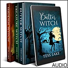 Torrent Witches Cozy Mysteries, Box Set 1: Books 1-3 Audiobook by Tess Lake Narrated by Natalie Duke