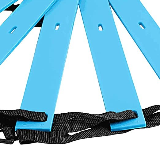 Escalera de velocidad Ejercicio Azul Ejercicio Fútbol Fútbol Agilidad Escalera Coordinación Conjunto de Entrenamiento de Escalera Entrenamiento Rápido Trabajo de Pies Agilidad Ejercicios Ayuda: Amazon.es: Hogar