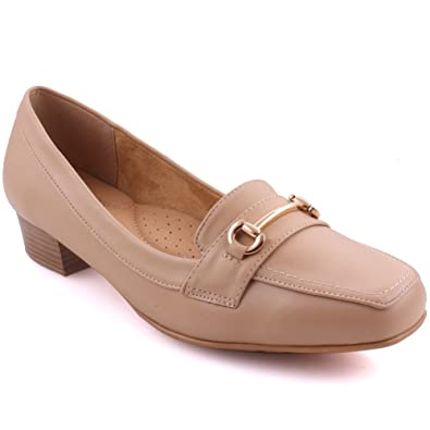 Unze Frauen Della Abend Soiree and Slip on Loafer UK Größe 3-8 - DYA006-3 Unze NC1NK