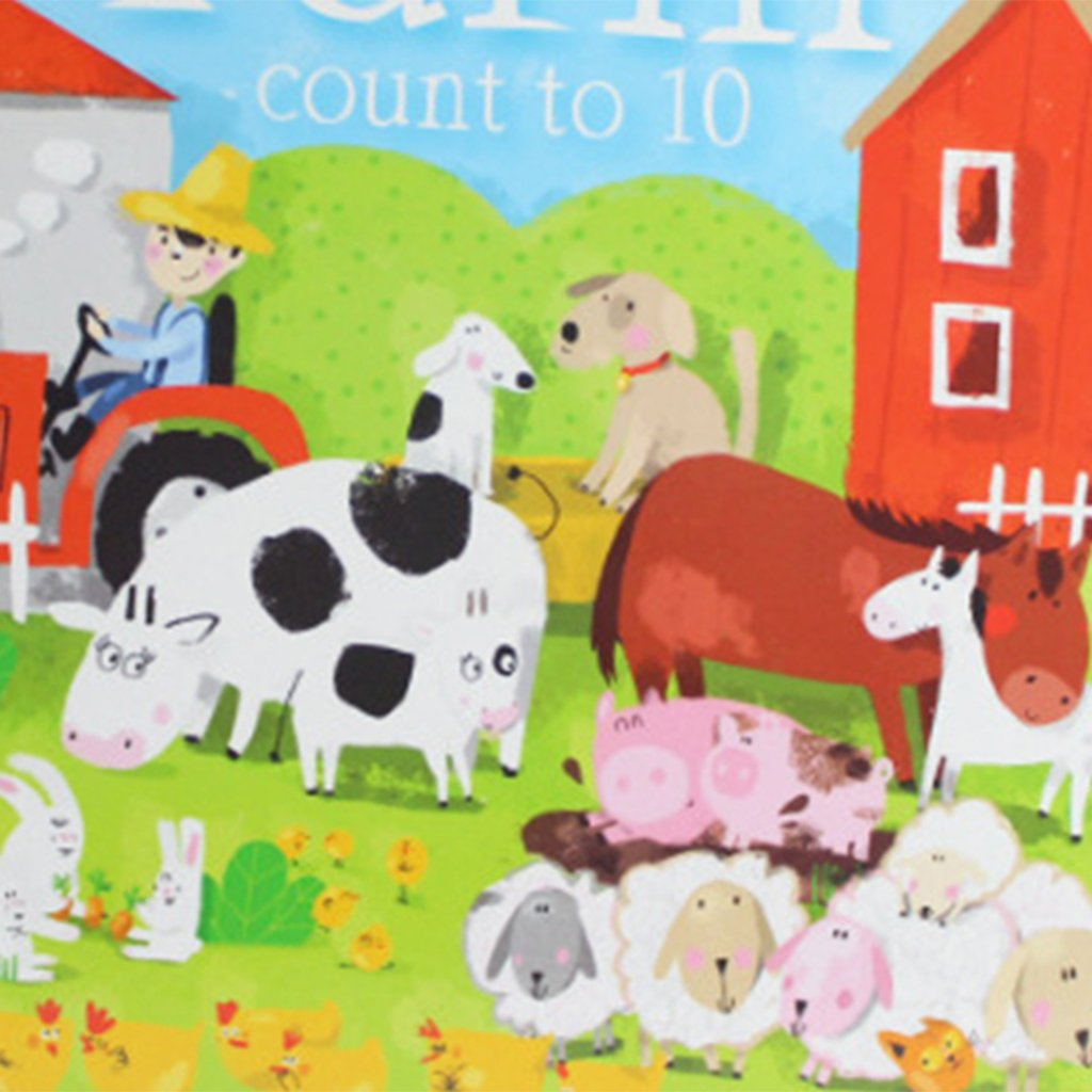 Fityle 3D Pop Up Books for Kids Boys Girls (Story Book, Baby Book, Children's Book) - A busy farm by Fityle (Image #8)