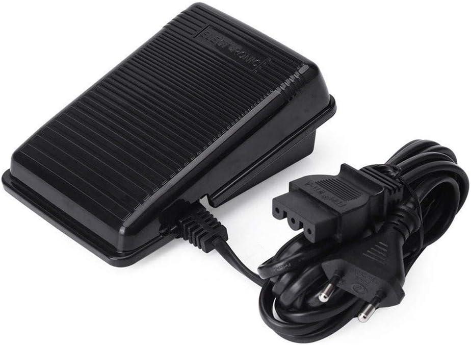 DIYARTS Máquina Coser Pedal Pie Controlador Control Electrónico Velocidad Variable Pie para Singer Máquina Coser Hogar Interruptor Pie con Cable