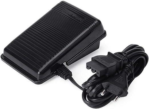 DIYARTS - Pedal de Control para Máquina de Coser, Control Eléctrico de Pedal con Cable para Máquina de Coser de Velocidad Variable para Singer: Amazon.es: Hogar