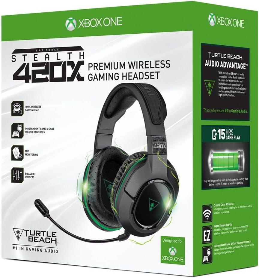 Turtle Beach Stealth 420X - Auriculares de juego inalámbricos - Xbox One y Xbox One S: Amazon.es: Videojuegos