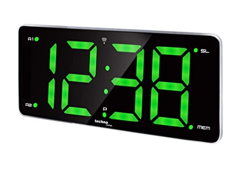 Wecker Uhr Weckradio Grün Ziffern 2 Programmierbare Wt Xxl Radiowecker 486 Weckzeiten Led Alarme Funk N8OkXPZn0w