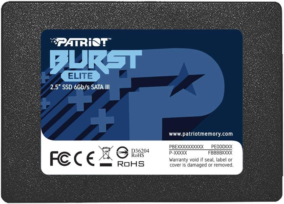 Patriot Burst Elite SATA 3 120GB SSD 2.5