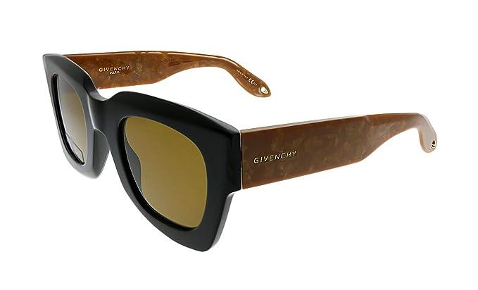 93ec621eb16 Amazon.com  Givenchy GV7061 S OWM 70 Black Beige Brown Plastic ...