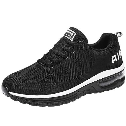Logobeing Zapatillas Deporte Hombre Running Zapatos para Correr Gimnasio Zapatillas Deportivas atléticas Ligeras Transpirables Casual Sneakers