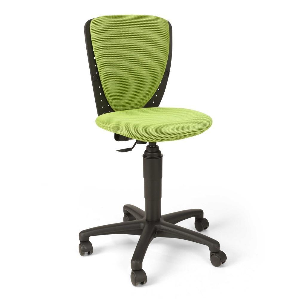 TOP STAR Topstar Children's Swivel Office Chair High Scool 3D Mesh Green
