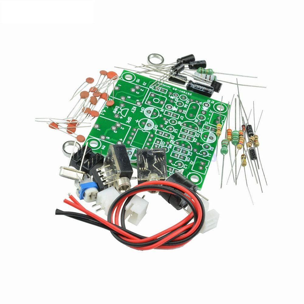 RADIO 40M CW Shortwave Transmitter QRP Pixie DIY Kit Receiver 7.023-7.026MHz