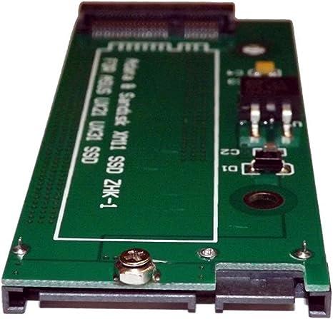 3CTop - Adaptador de disco duro SSD mSATA a SATA para SDSA5JK XM11 ...
