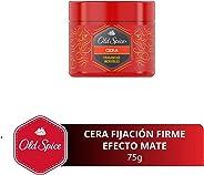 Old Spice Cera Fijación Firme Efecto Mate Cera Para El Cabello 75 g