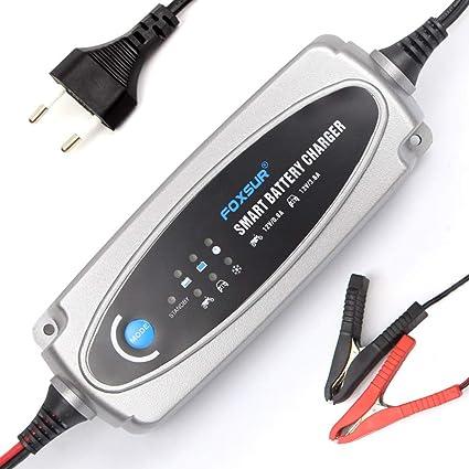 XINLUCK 12V 0.8A-3.6A Cargador de Batería Automático de 5 ...