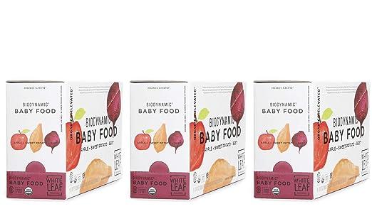 Alimentos biodinámicos orgánicos para bebés – manzana + papa ...