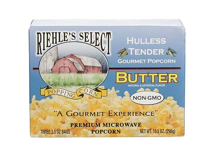 Riehles Select Popping Corn pochoclos de manteca para ...