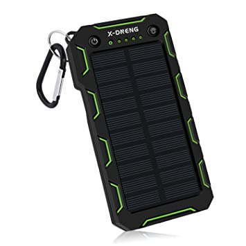 Cargador solar, cargador de teléfono solar de 15000 mAh con ...