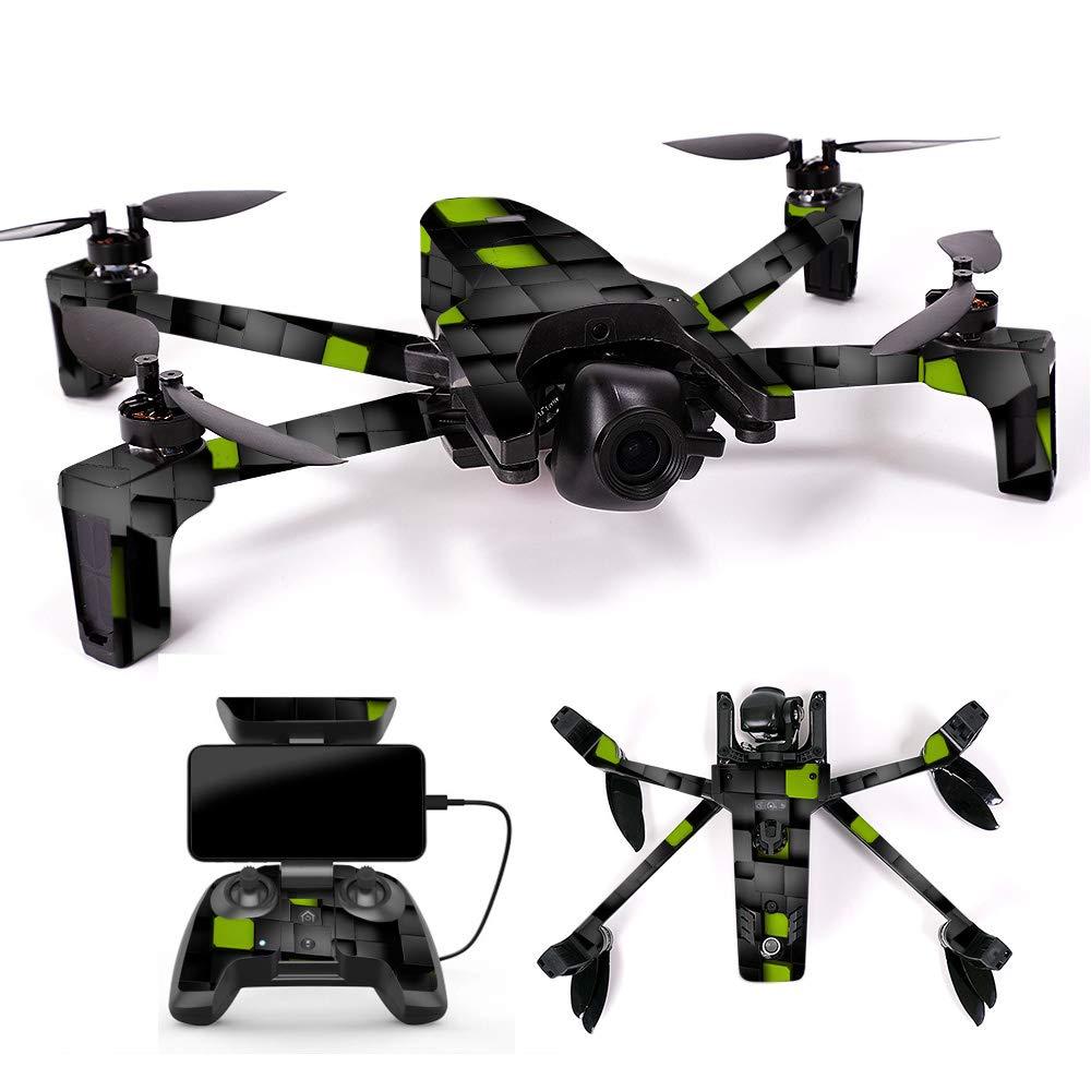 【ラッピング無料】 MightySkins スキンデカール Controller ラップ Coverage Parrot Anafi Drone用 ステッカー Anafi ブラック アーガイル柄, 3 pack Of Battery Skin Only, PAANABAT-Space Blocks B07H7SMFKK Full Drone & Controller Coverage Cubes Cubes Full Drone & Controller Coverage, 美味しい黄金干し芋のどらいすとあ:b9642404 --- rsctarapur.com