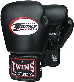 TWINS Boxhandschuhe, Leder, AIR, schwarz, Gr. 10 Oz