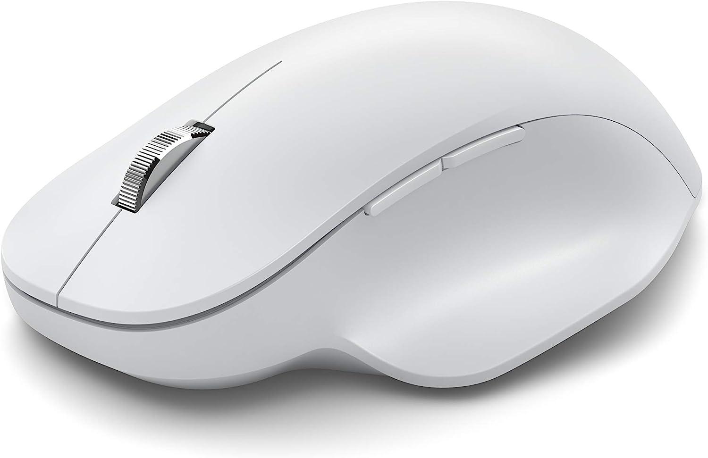 Microsoft Ratón ergonómico con Bluetooth, Color Blanco