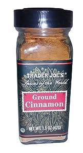 Trader Joe's Ground Cinnamon (1.5 oz.)