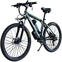 """KEANTY 26"""" Electric Mountain Bike, Shimano 21-Speed E-Bike with Removable 36V Large Capacity Lithium Battery and 350W Brushless Motor"""