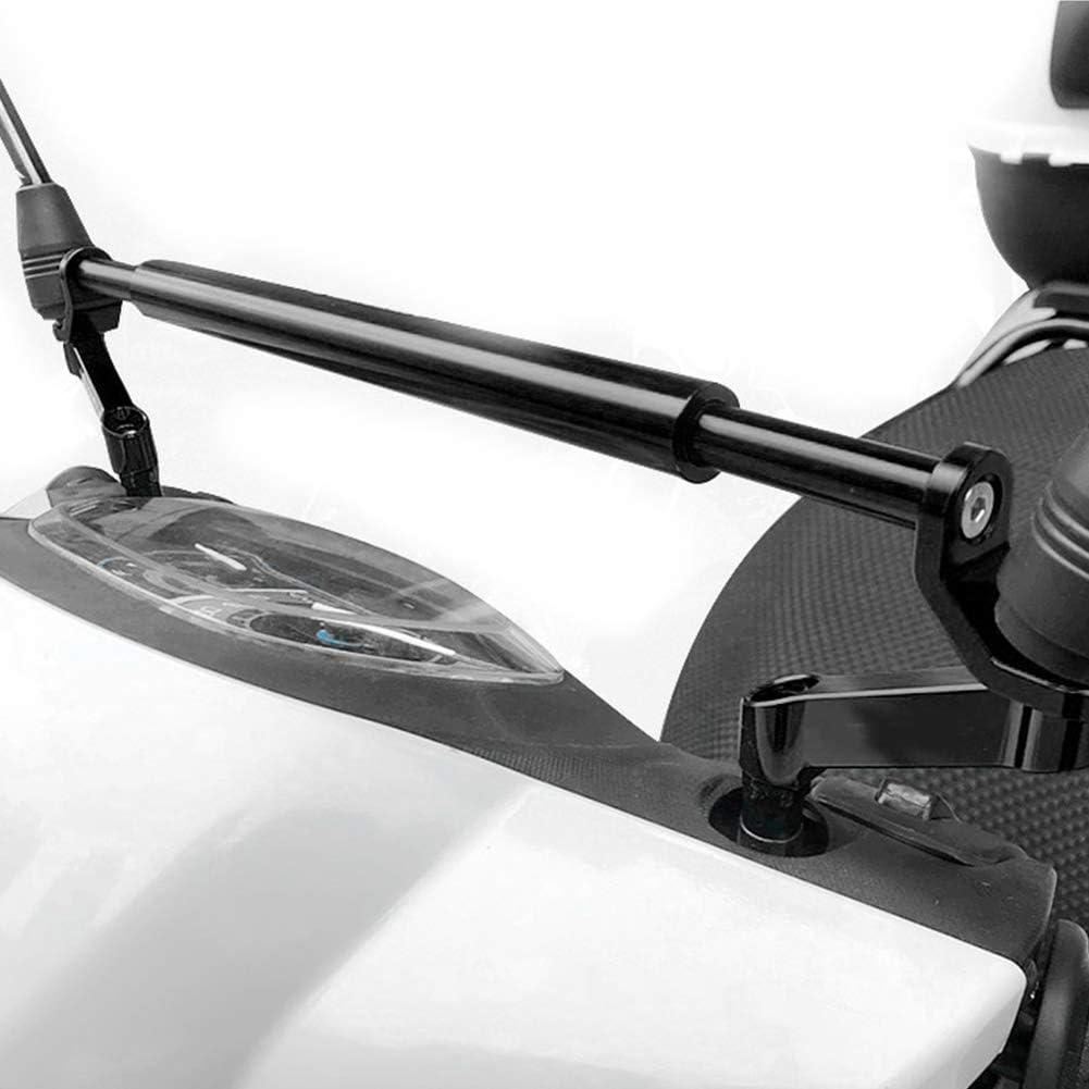 Argento Manubrio per moto Mootea Staffa di espansione Manubrio in lega di alluminio Modifica barra di bilanciamento