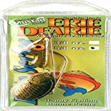 Carlson Erie Dearie Elite Series Tangy Cray Gold Fishing Lure, 5.8-Ounce