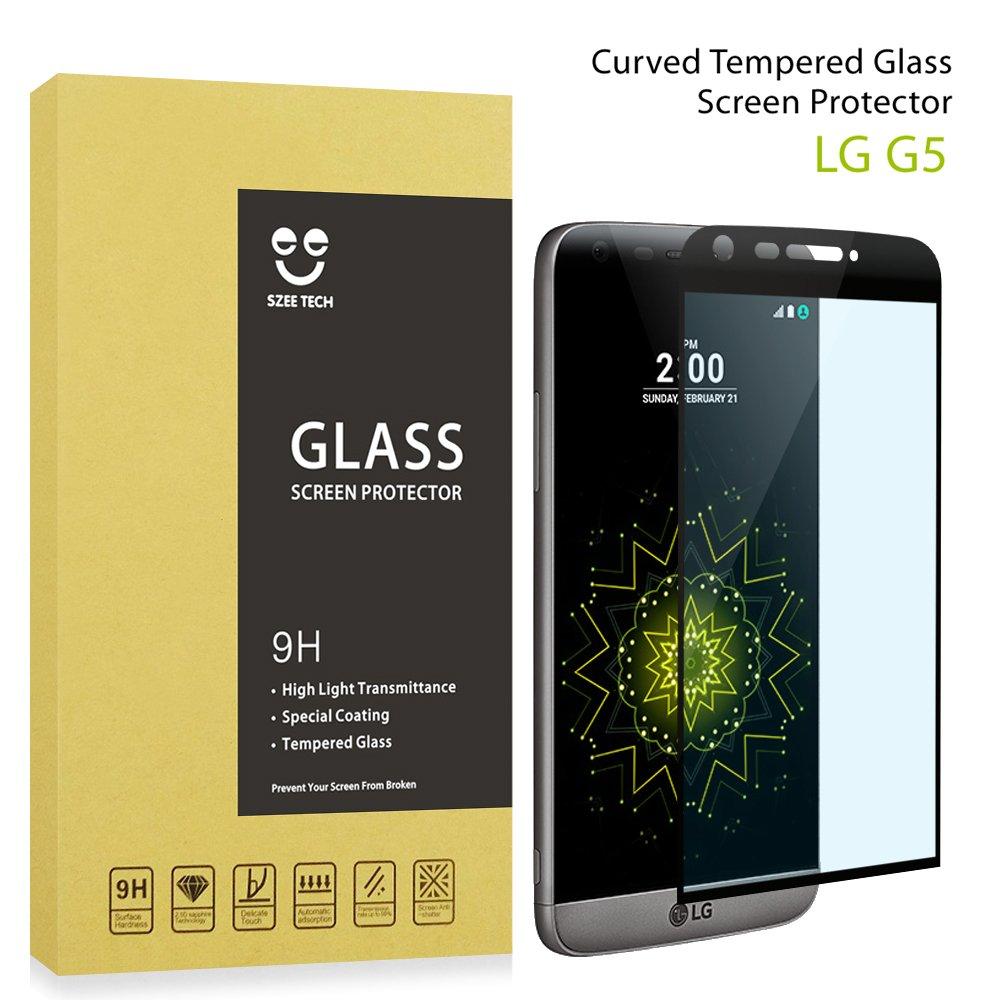 SZEETECH Protector de pantalla de cristal templado para LG G5 alta ...