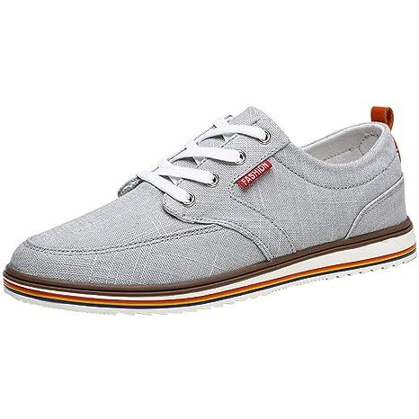 soldes dernier style chaussures pour pas cher style_dress Chaussure Homme Ville Blanche, Basket Toile ...