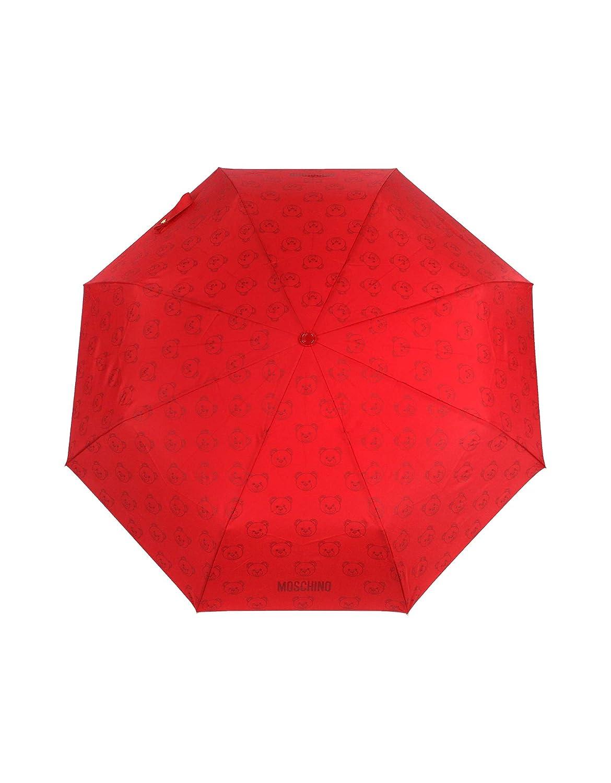 Moschino Mujer 8043Aoccred Rojo Poliamida Paraguas: Amazon.es: Ropa y accesorios