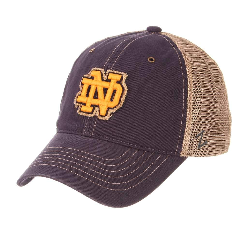 newest e860e 14362 ... italy m.m. impex inc. notre dame fighting irish zephyr tatter  adjustable hat e2281 0a494