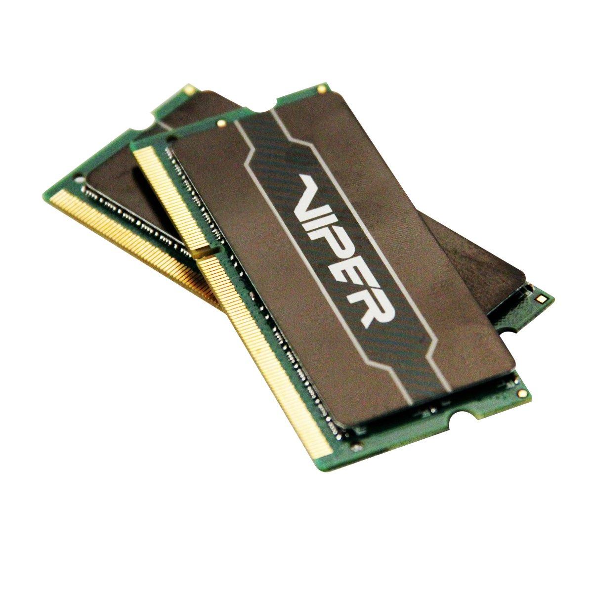 Patriot 16GB(2x8GB) Viper Series DDR3 1600 (PC3 12800) CL9/ Voltage 1.35V Laptop Memory - PV316G160LC9SK