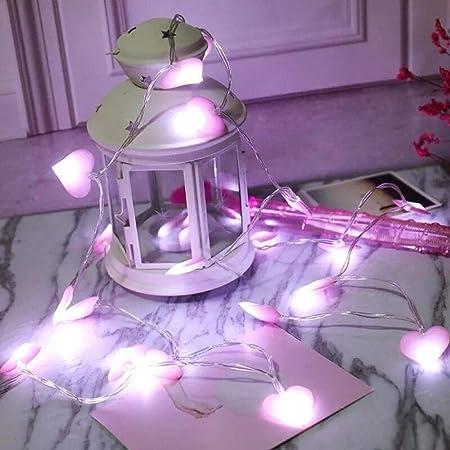 LHSUNTA Me encantan Las pequeñas Luces de Cadena para ...