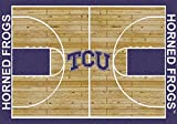 Texas Christian Horned Frogs 3 10'' x 5 4'' Home Court Area Rug