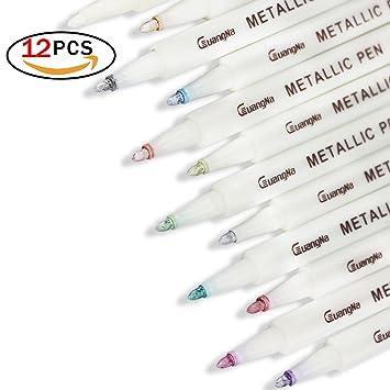 Write Dudes Scribble Stuff Metallic Super Gel Pens, 5 Count