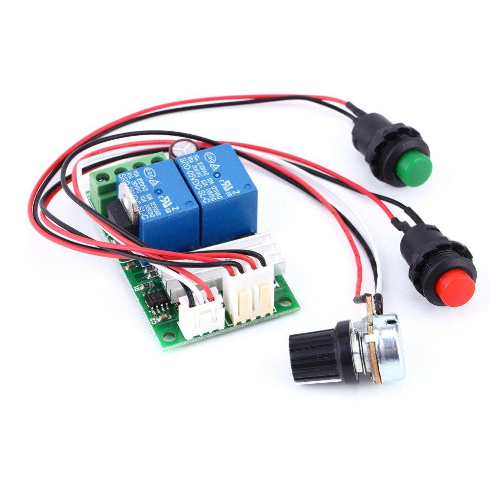 Motor Pump Speed Controller PWM Regulator Reversing Switch High Quality DC6V 9V 12V 24V 3A DC6V 9V 12V 24V 3A Motor Pump Speed Controller PWM Regulator Reversing Switch