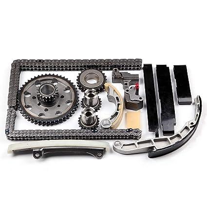 cciyu Timing Part TKNS129A Timing Chain Tensioner Guide Rail Cam Sprocket fits 2011 2012 Nissan Cabstar