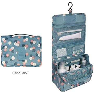 LEANO Travel Hanging Cosmetic Bag Foldable Storage Bag Packing Organizers