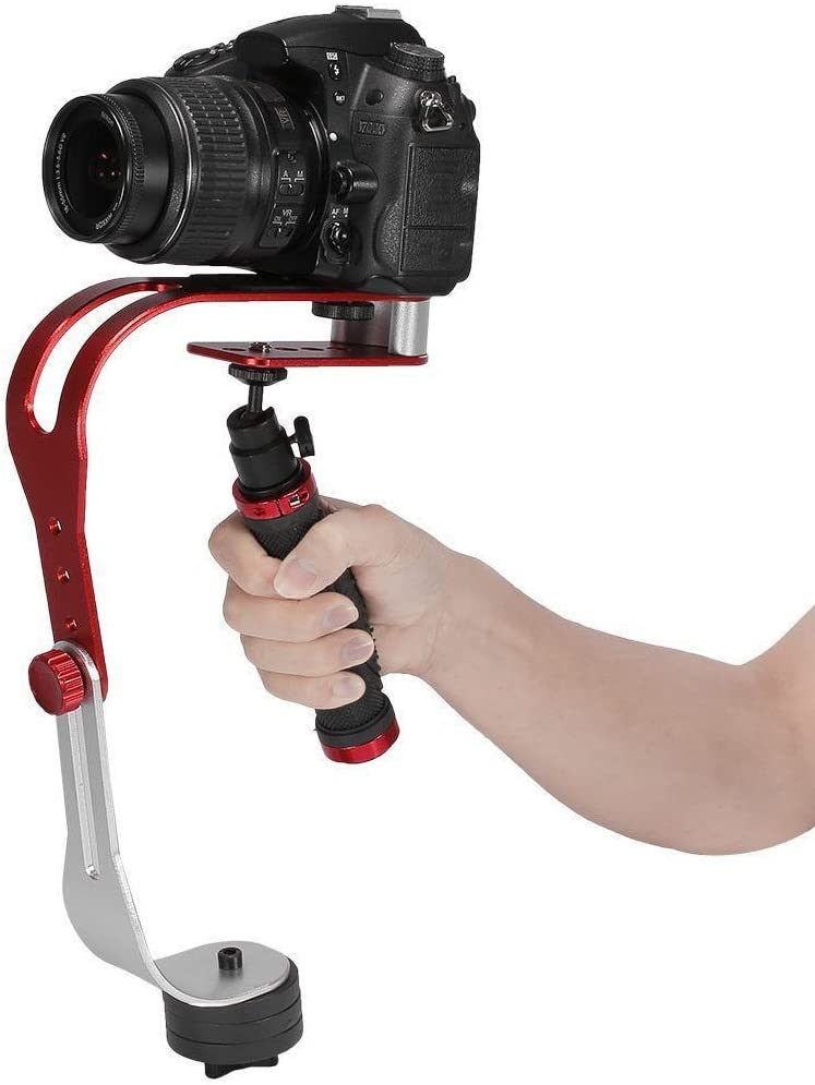 Pro Video Stabilizing Handle Grip for Sony Cyber-Shot DSC-TX30 Vertical Shoe Mount Stabilizer Handle