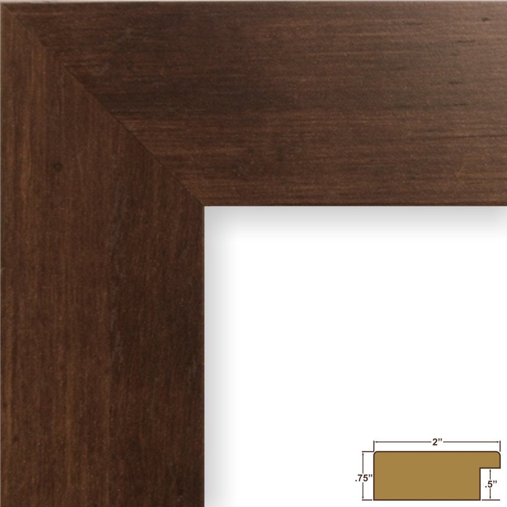 Amazon craig frames 74060 24 by 36 inch picture frame amazon craig frames 74060 24 by 36 inch picture frame smooth wrap finish 2 inch wide mocha brown jeuxipadfo Gallery