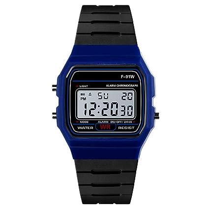 Modaworld Relojes Pulsera Hombre Reloj analógico Digital de Lujo para Hombre Militares ejército Deporte LED Impermeable Relojes de Pulsera: Amazon.es: ...