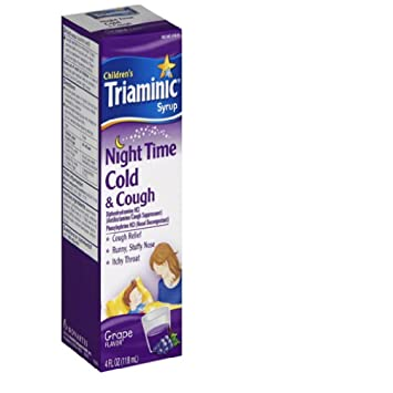 Amazoncom Triaminic Childrens Nighttime Cough Cold Syrup 4 Oz