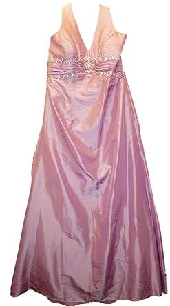 Sale 80% Off Amanda Wyatt DQ 2141 Lilac Taffeta Bridesmaid*Prom Dress UK18 rrp