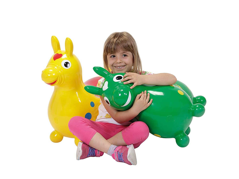 Green Gymnic 7002 Horse Rhodium
