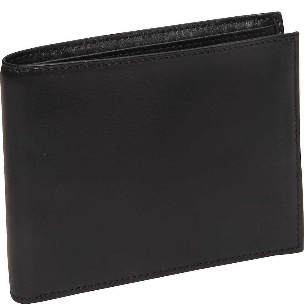 Bosca Men's Nappa Vitello Collection - Continental ID Wallet 97-100