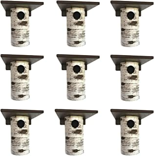product image for DutchCrafters Gilbertson Bluebird House, Outdoor Nest Box Sparrow Resistant (9 Pack)
