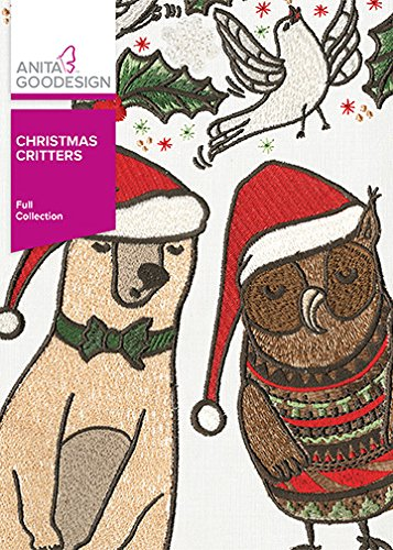 Critters Embroidery Design (Anita Goodesign Embroidery Designs Christmas Critters)