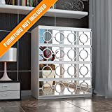 HomeArtDecor - Pathos Fretwork - Suitable for IKEA Malm - 31.49 x 7.87 inches - Color White - Overlays - Furniture Appliques - Makeover - Mirror - Furniture Applique - Lattice - Refurbish - Home Décor