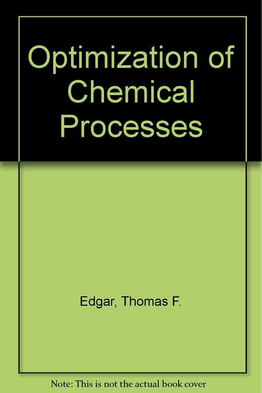 Optimization Of Chemical Processes Pdf