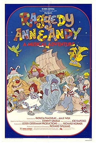 Raggedy Ann and Andy Poster 27x40 Didi Conn Mark Linn-Baker Mason Adams