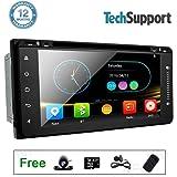 "Touch Screen Radio Car Stereo DVD Player GPS Navigation for Toyota Hilux VIOS Corolla Camry Prado RAV4 4Runner 6.95"" Universal HD in Dash Head Unit Multimedia Player"